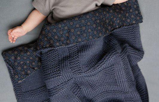 photo tricot modele tricot couverture b b facile 13 pour b b tricot crochet pinterest. Black Bedroom Furniture Sets. Home Design Ideas