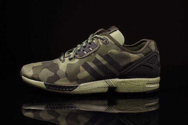 adidas zx flux camuflaje