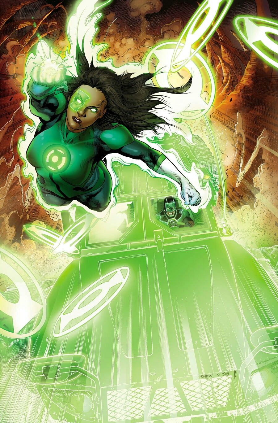 Green Lantern /'92 28 VF C2