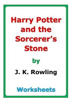 Harry Potter And The Sorcerer S Stone Worksheets Harry Potter
