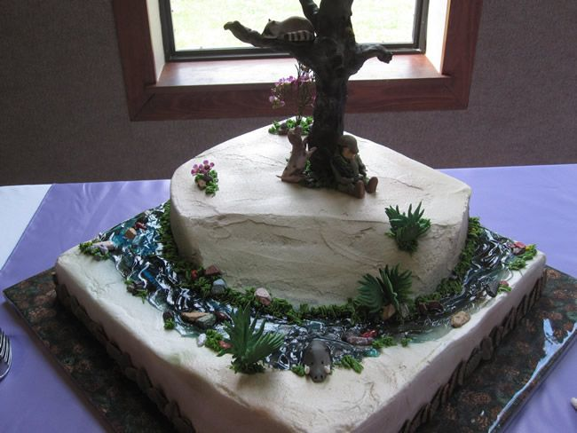 Pin On Cake Toppers On Cake Groom Cake Groovy Ideas