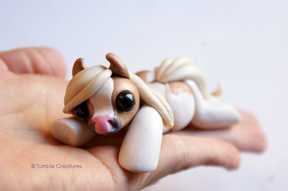Mystery Pony Sculpture Cute Miniature Horse by TumbleCreatures: