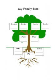 English worksheet: Family Tree | Ingles | Pinterest ...