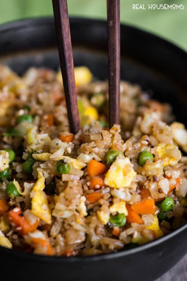 Cauliflower Fried Rice #cauliflowerfriedrice