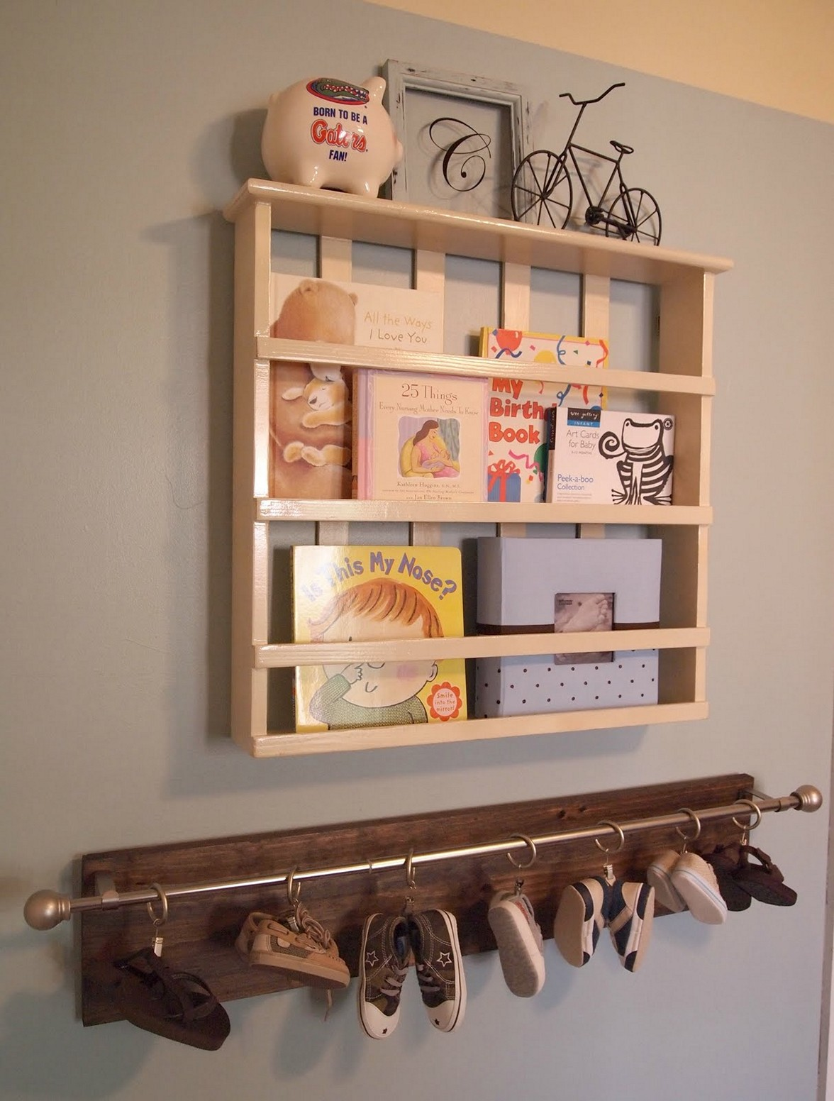Wooden Recycled Baby Shoe Rack Wall Decor Ideas Diy Shoe Rack Diy Shoe Storage Baby Shoe Storage