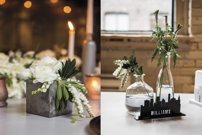 industrial sheek centerpieces Google Search Party Planner