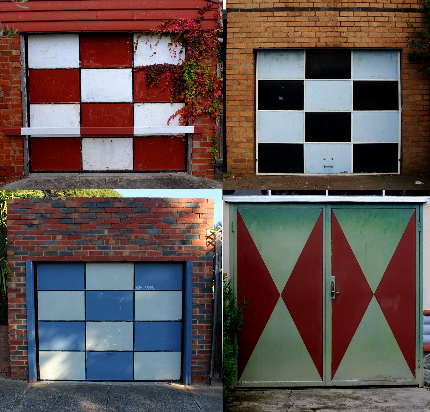The Last Of The 1950s 60s Garage Doors Near Me Brunswick Australia Garage Doors Garage Old Buildings
