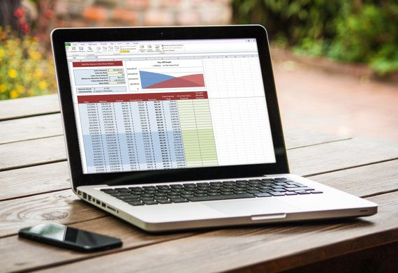 mortgage payoff and amortization schedule excel spreadsheet by