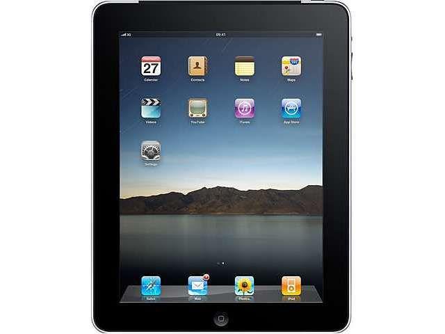 "Refurbished: Apple iPad MB294LL/A-R-C Apple A4 64GB Flash 9.7"" Touchscreen Tablet PC (C GRADE) iOS 4 - Newegg.com"