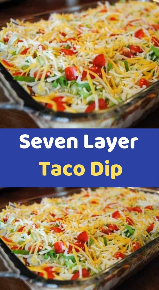 Seven Layer Taco Dip    INGREDIENTS    1 (1 ounce) package taco seasoning mix  1 (16 ounce) can refried beans  1 (8 ounce) package cream cheese, softened  1 (16 ounce) container sour cream  1 (16 ounce) jar salsa  1 large tomato, chopped  1 green bell #dipsandappetizers