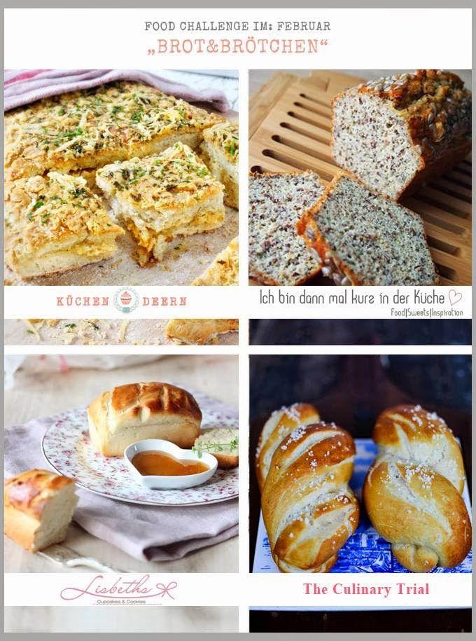 Ich bin dann mal kurz in der Küche: {Food Challenge} Brot geht auch ohne Mehl