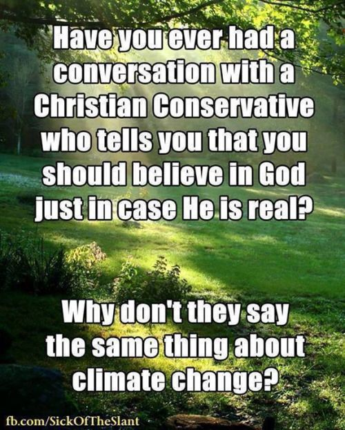 What bothers me, is that the only reason they believe in god?