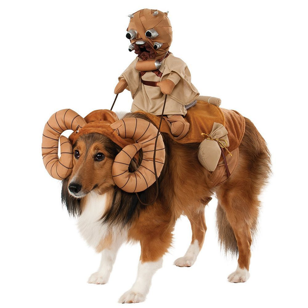 Pet Star Wars Bantha Rider Costume, Multicolor