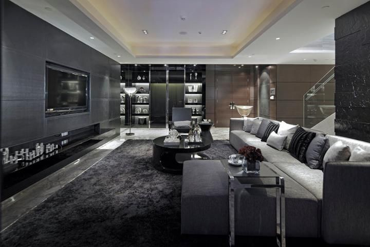 Excellent Luxurious Living Room Designs Decoholic Living Room Design Dark Black Carpet Living Room Luxury Living Room