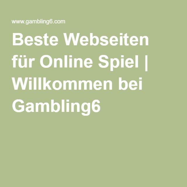Spiele Webseiten