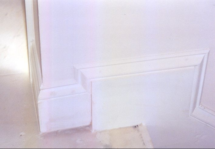 Transition From Skirt To Base At Top Of Stairs Trim And