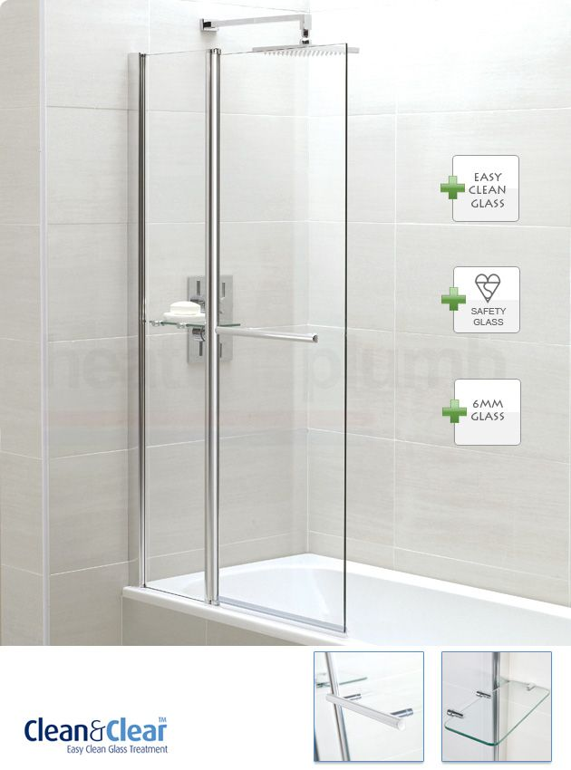 Showers Product | Cheapest price April AP9577S Fixed Panel Bath ...