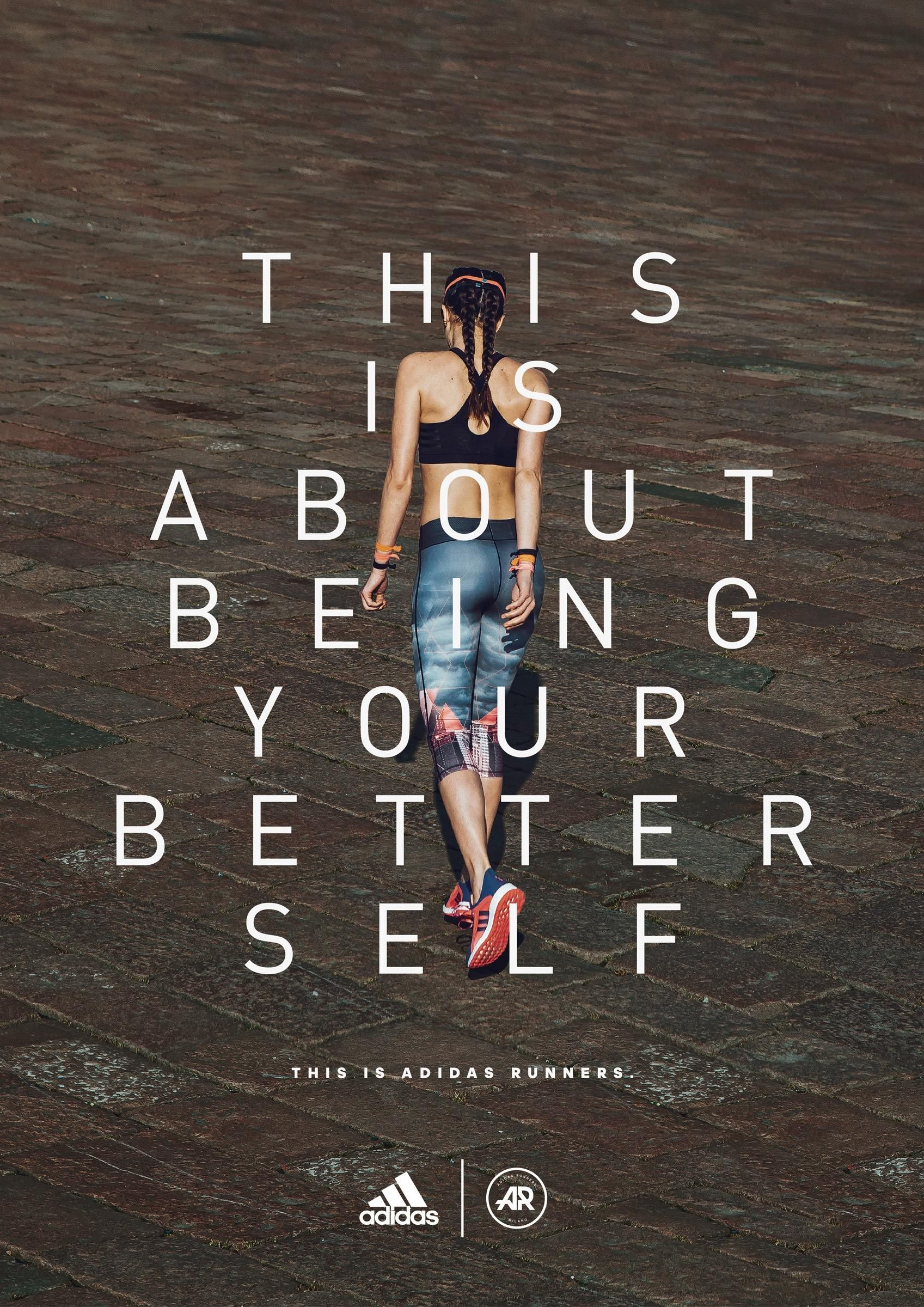 Better Self Ads Of The World Adidas Runners Sports Advertising Best Self