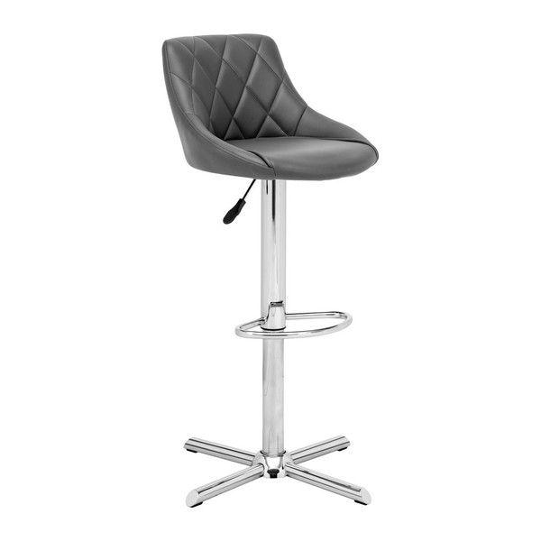 Zuo Devilin Bar Chair In Gray Idees Pour La Maison Moderne Et Maison