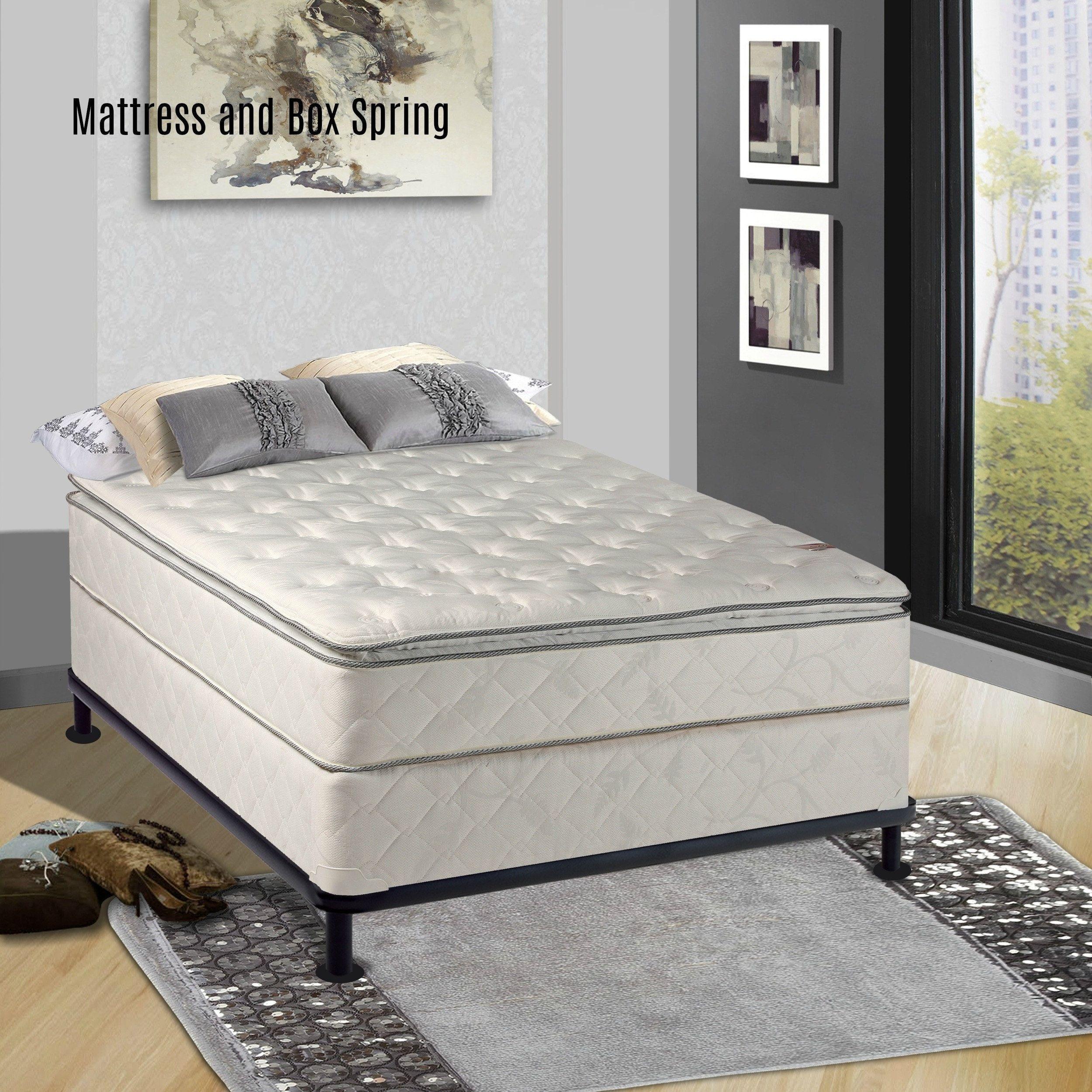 serta perfect sleeper conviction super pillowtop full size mattress