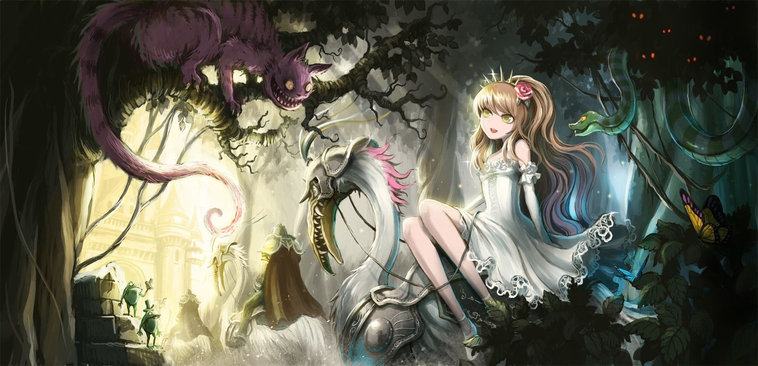 Dark Alice In Wonderland Alice In Wonderland Artwork Dark Alice