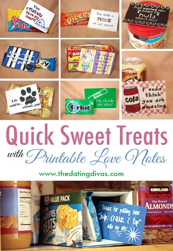 Quick Sweet Treats Romantic Gift Ideas For Him Pinterest Gifts