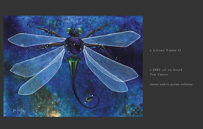 A Living Thing II by Tim Cantor
