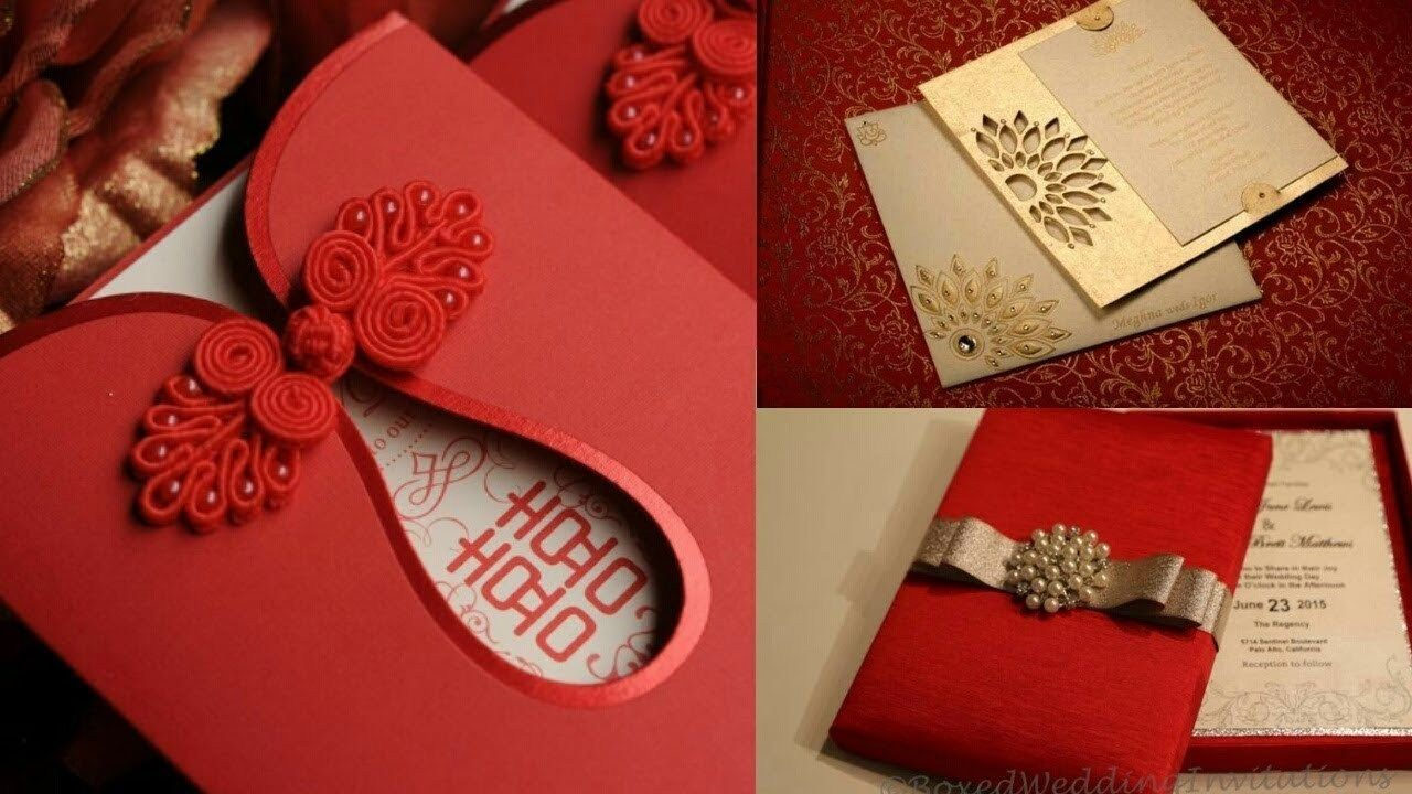 Indian Wedding Invitation New Fashionable Wedding Cards Indian