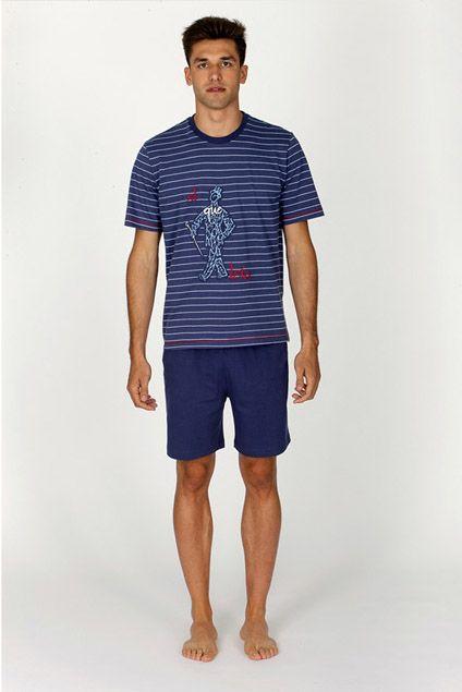 Comprar Pijama Paul de verano Soy Underwear para hombre. PVP: 33,50€. ENVÍO 24/48h. Gran selección pijamas Soy en Varela Íntimo. http://www.varelaintimo.com/categoria/40/pijamas #menswear #ropainteriorMasculina #mensunderwear #pijamashombre