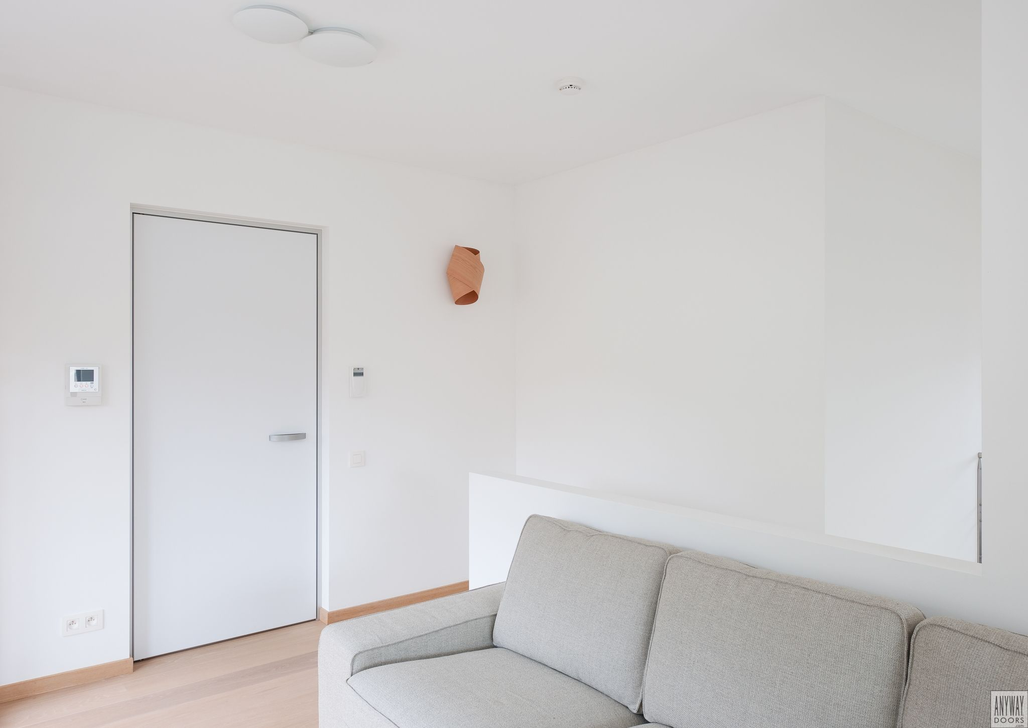 modern white interior door. Modern White Interior Door With A Minimalist Anodized Aluminium Frame T