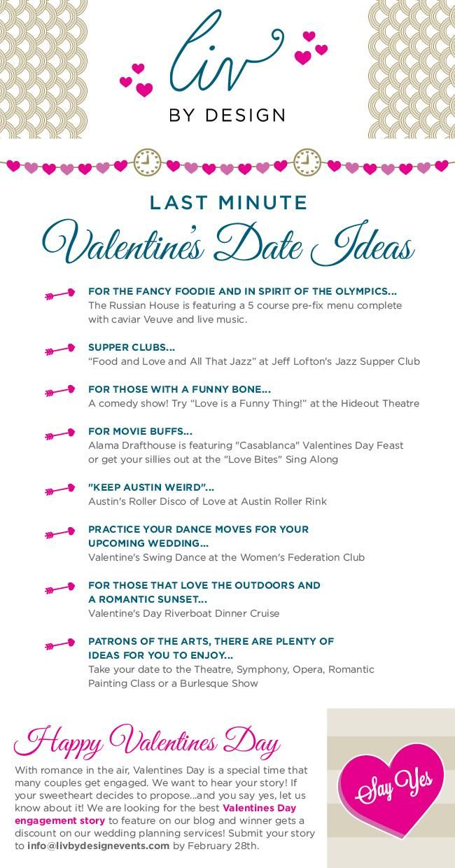 cute list of valentines day date ideasloveisintheair dateideas love cute valentines day date ideas