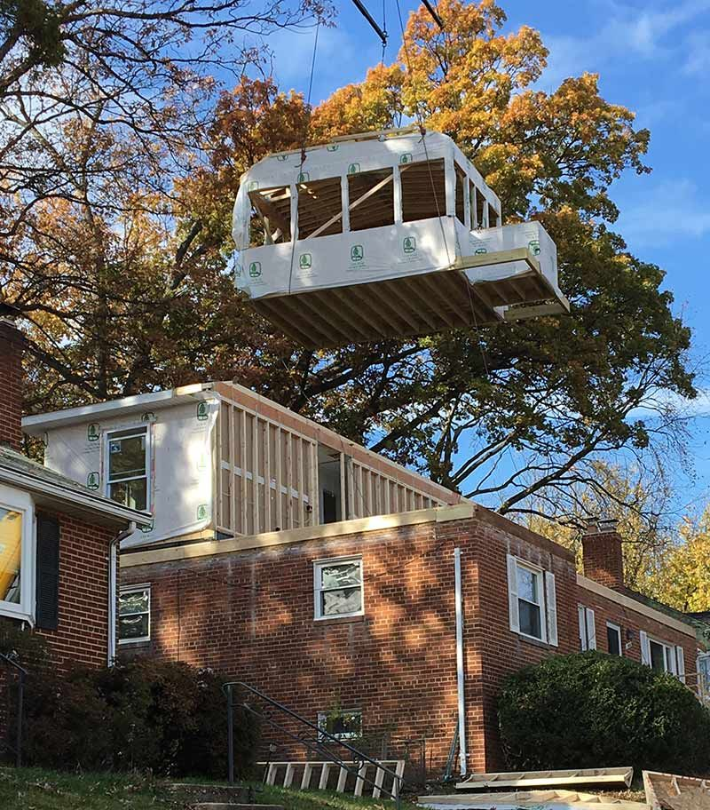Mobile Home Additions: Arlington Modular Home Addition