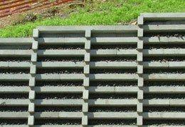 Retaining Solutions Precast Concrete Crib Retaining Walls