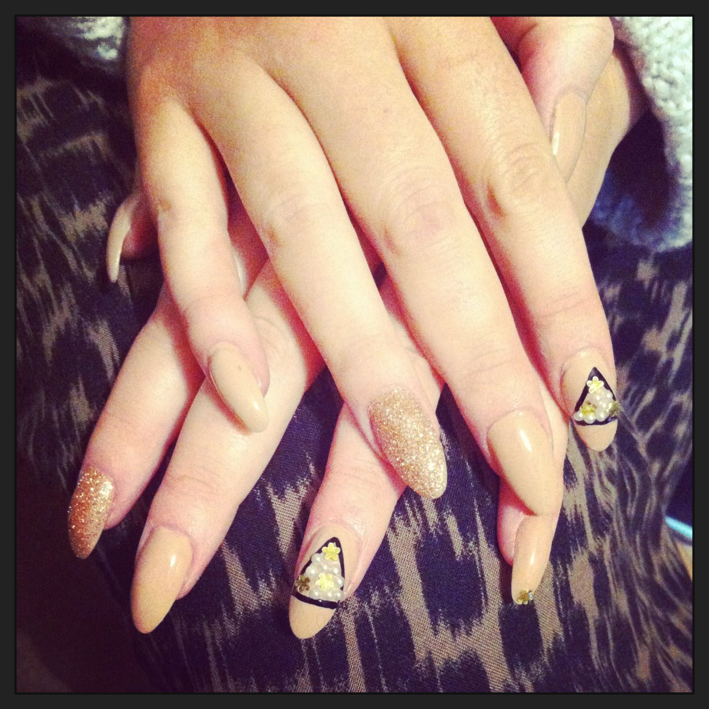 Nails created by CharChar Benson