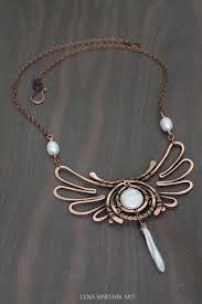 Risultati immagini per wire jewelry necklace wire pinterest risultati immagini per wire jewelry necklace aloadofball Images