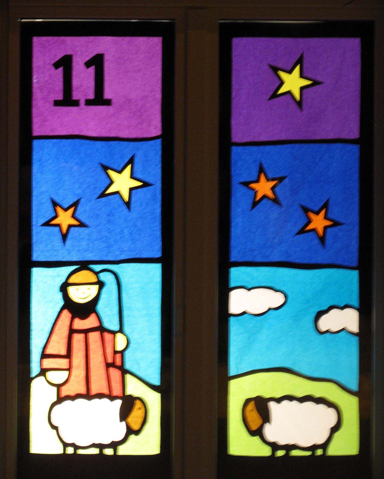 maladudesign adventsfenster am 11 dezember