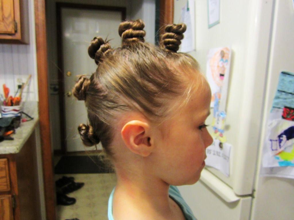 Kids Alien Hairstyles