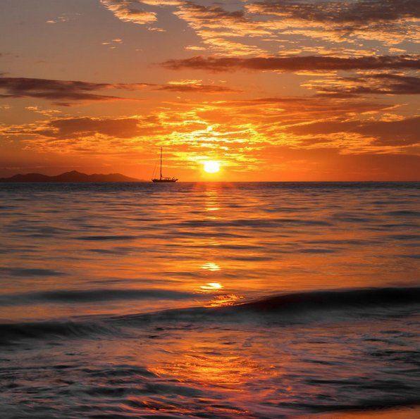 Another magical Fiji sunset!