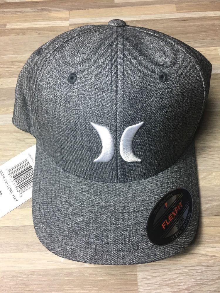 4f41fe6be $30 Hurley Icon Texture Flexfit Cap Hat Mens SMALL/MEDIUM Stretch ...