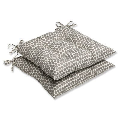 Brayden Studio Eris Outdoor Seat Cushion Fabric: Sterling