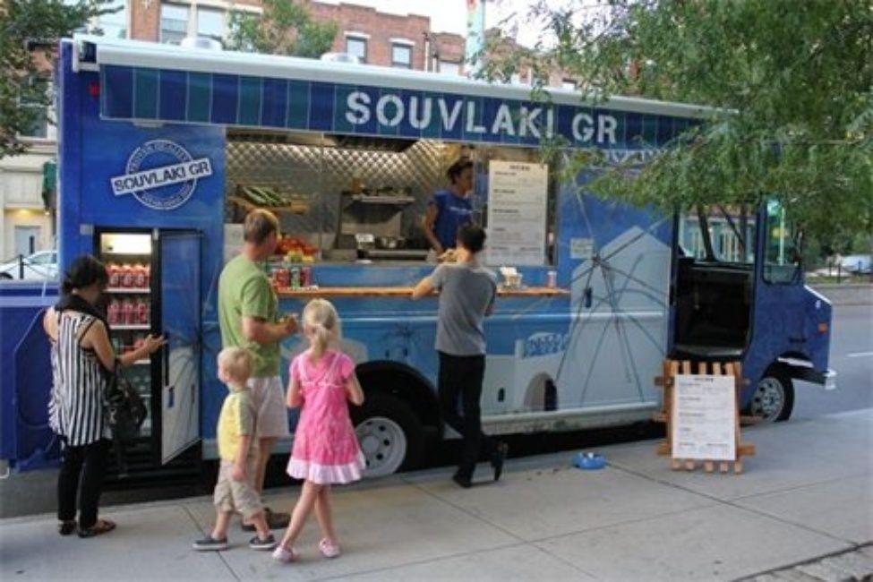Greek Souvlaki Best food trucks, Nyc food