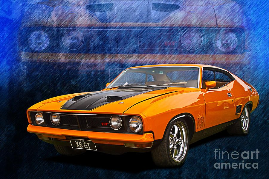 1974 XB Ford falcon GT Coupe (Australia) : ford muscle cars for sale australia - markmcfarlin.com