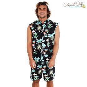 Toucan Party Boys Hawaiian Shirt Cotton