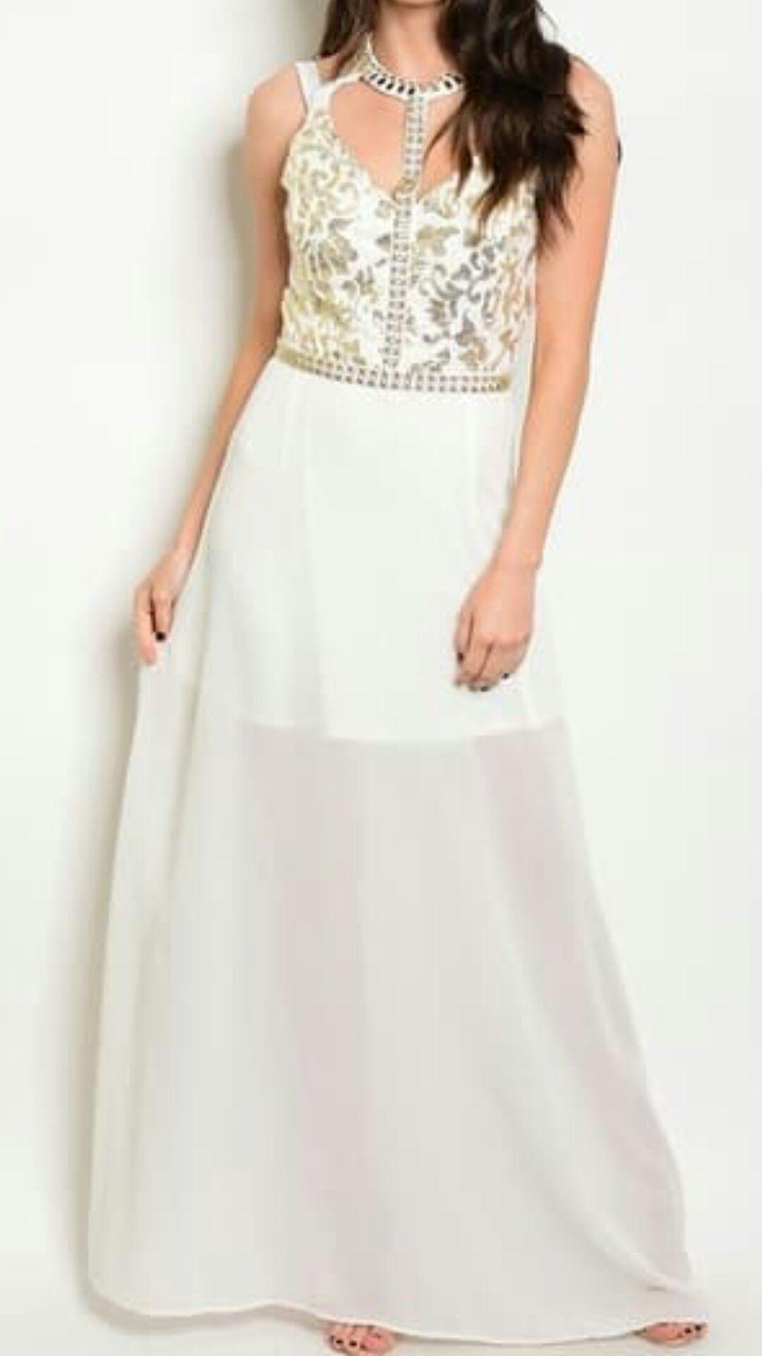 Simple modern wedding dress  Modern Wedding Dress Simple Elegant Aline Floor Length Chiffon
