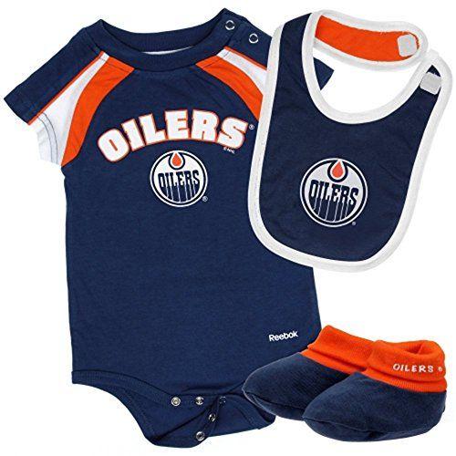 Edmonton Oilers Bibs. Edmonton Oilers Creeper Edmonton Oilers 5d9d3beaa