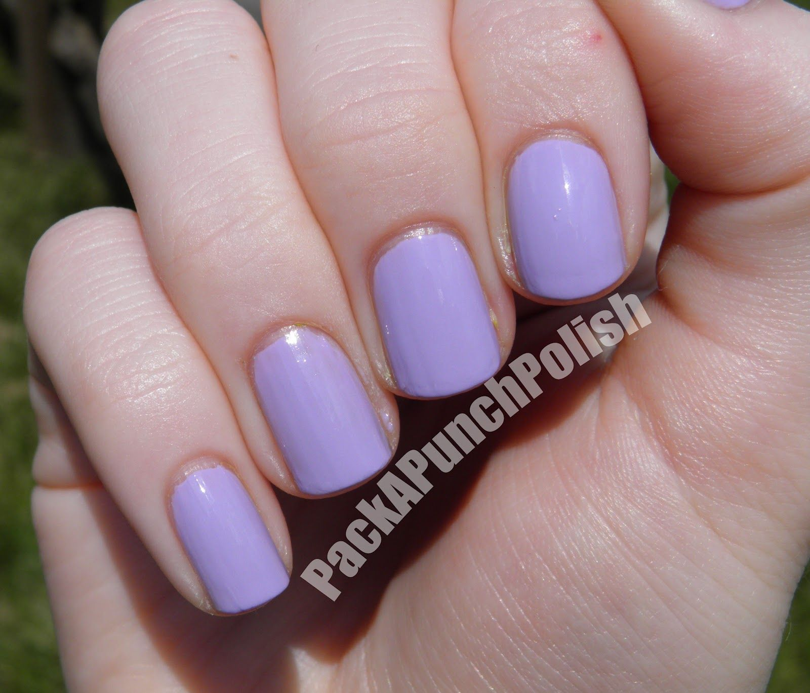 Lilac Nail Color: Sally Hansen Xtreme Wear Lacey Lilac