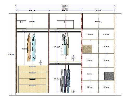 Alzado armario 7 bricolaje y manualidades pinterest - Puertas de armarios empotrados de diseno ...