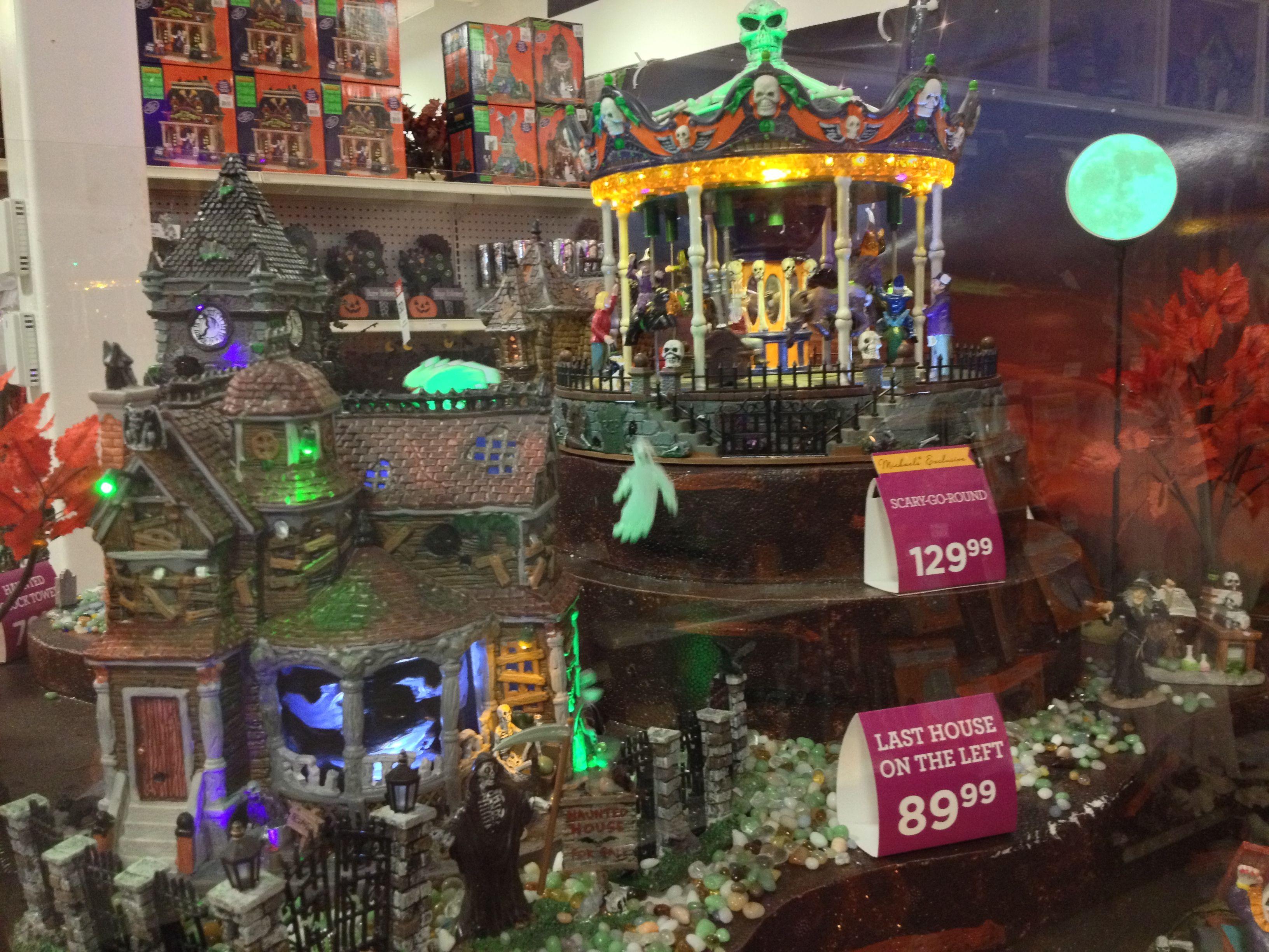 Lemax Spooky Town 2013 Halloween village display
