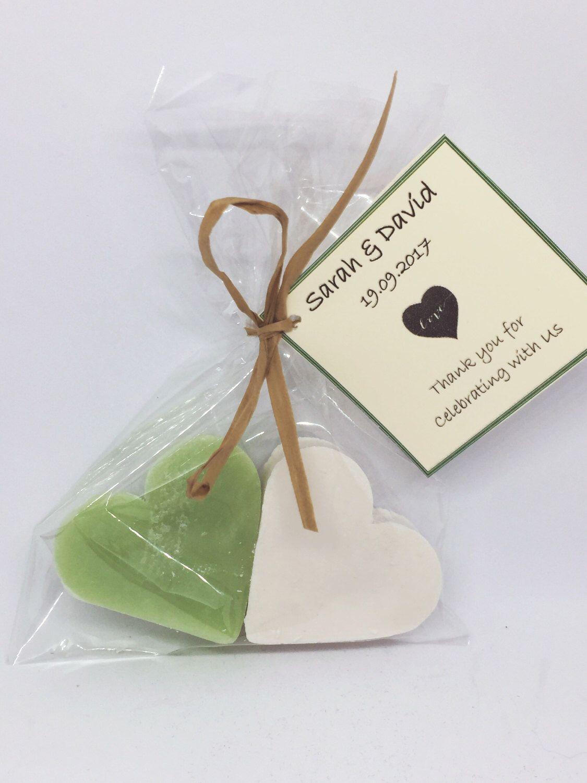 10 x Wedding favours, Soap Wedding Favours, Green Tea, Coconut, mini ...