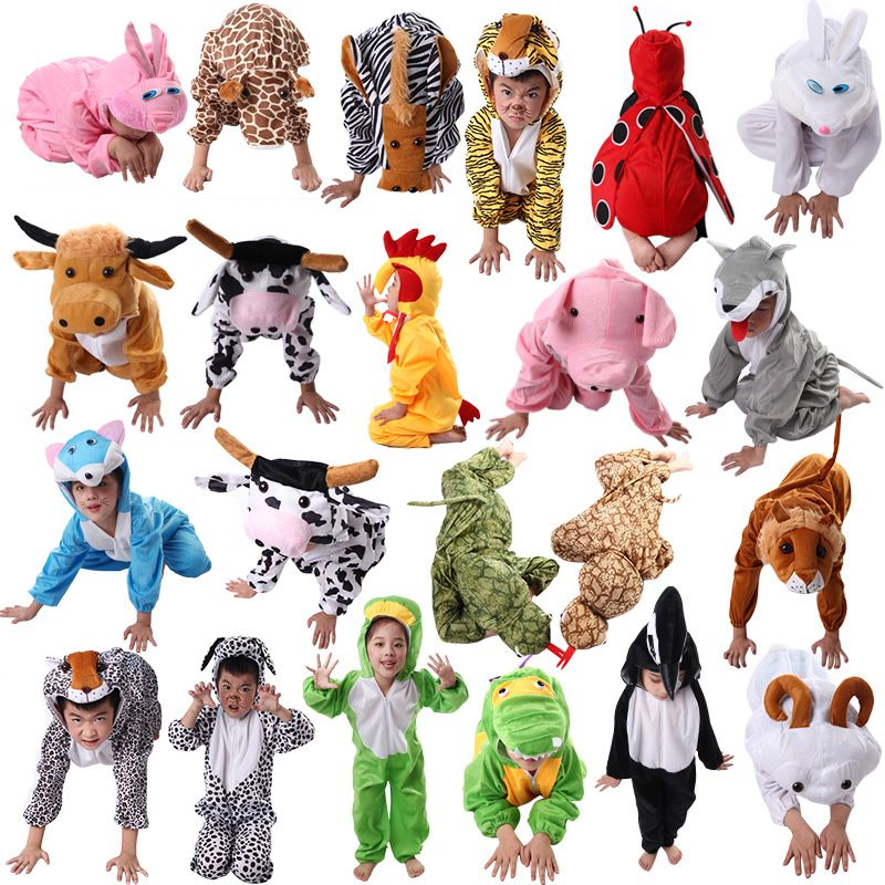 Cheap halloween costume Buy Quality cosplay pajamas directly from China children cosplay Suppliers New 2017 Fantasia Infantil Cheap Animals Children ...  sc 1 st  Pinterest & Great For Childrenu0027s Plays or Halloween - Animal Costumes in 24 ...